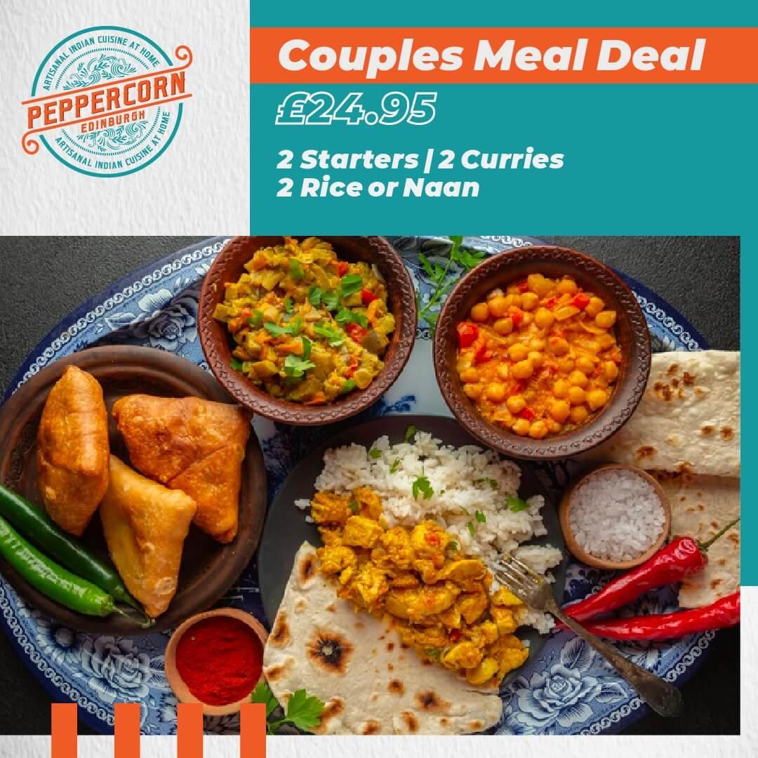 Couples - Offer Peppercorn Edinburgh